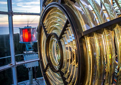 Grays Harbor Light Fresnel Lens