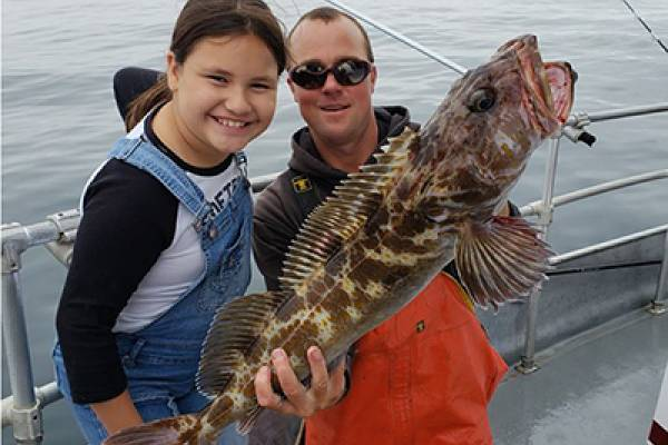 charter fishing westport lingcod cod salmon halibut