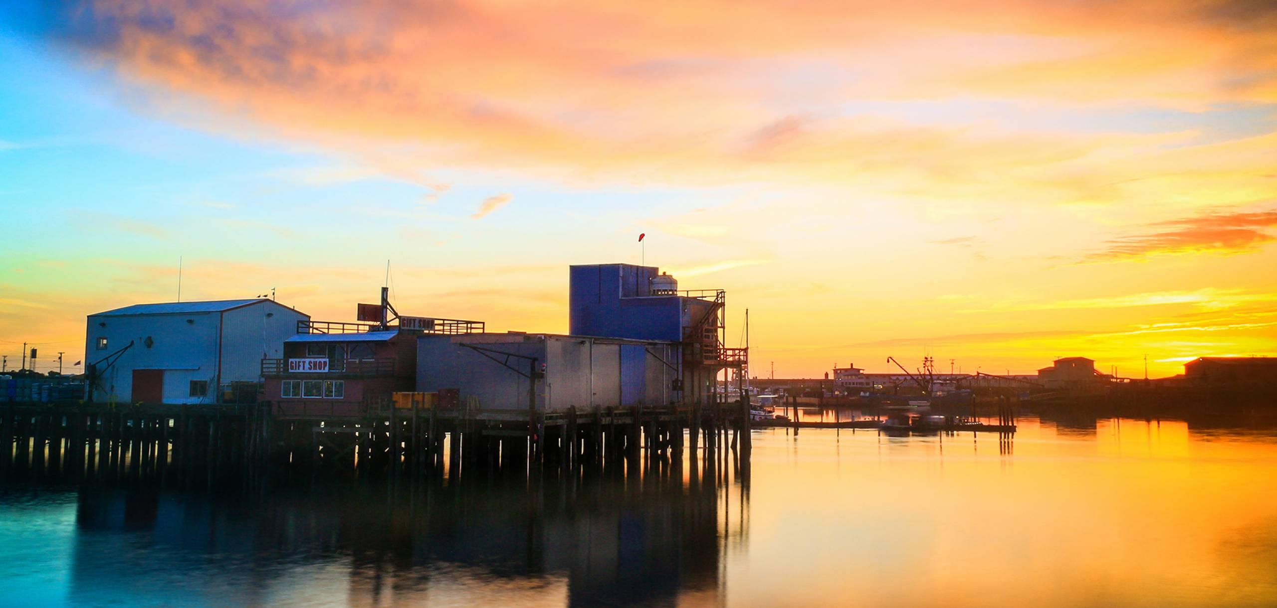 Marina in Westport, Washington